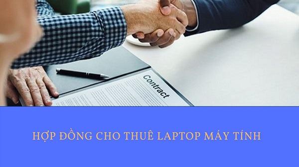 hợp đồng cho thuê laptop