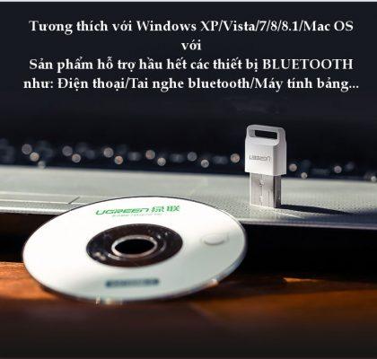 usb bluetooth ugreen cho cả pc và laptop