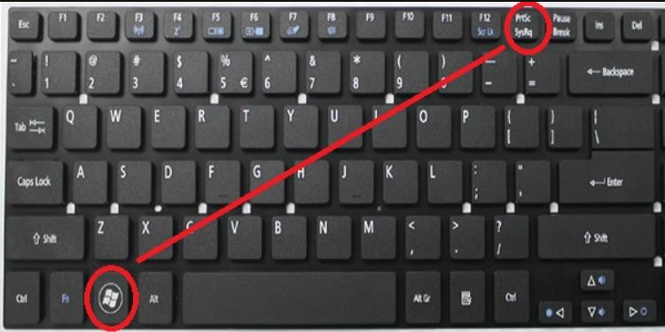 cách chụp màn hình laptop