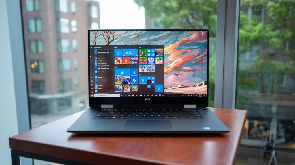 Máy tính xách tay tốt nhất 2020 - Dell XPS 15 2-in-1