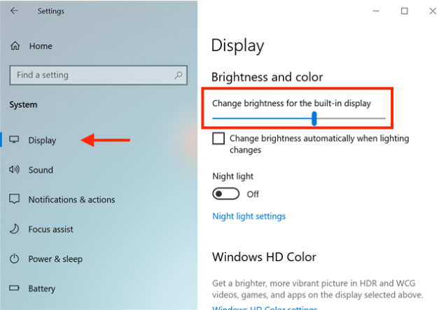 cách chỉnh giảm độ sáng màn hình laptop
