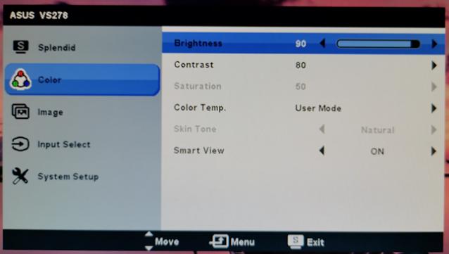 chỉnh độ sáng màn hình laptop,
