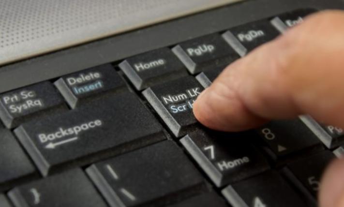 bàn phím laptop bị liệt Trường hợp phím số không bấm được