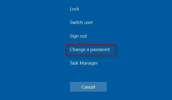 cài mật khẩu win 10
