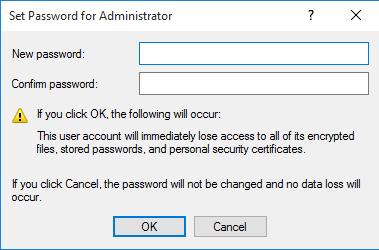 thay đổi mật khẩu máy tính